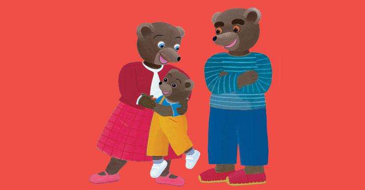 Petit Ours Brun et ses parents