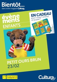 Evènement Petit Ours Brun Cultura