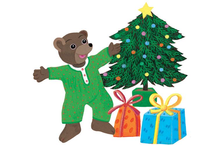 Petit Ours Brun fête Noël