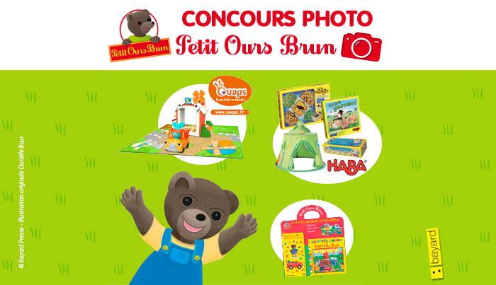 Le concours de photos du printemps de Petit Ours Brun