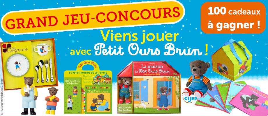 Grand jeu-concours Petit Ours Brun 2015