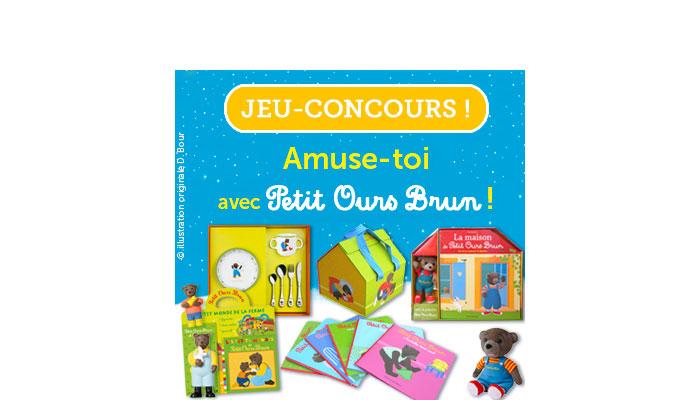 Les résultats du grand jeu-concours de Petit Ours Brun 2015