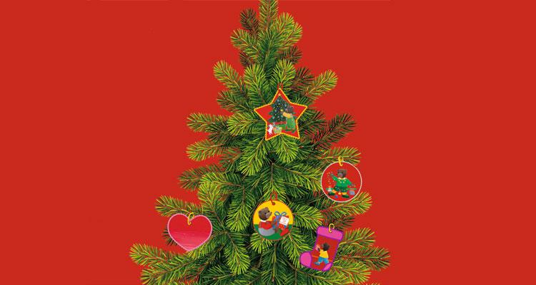 Bricolage : Les décorations de Noël Petit Ours Brun