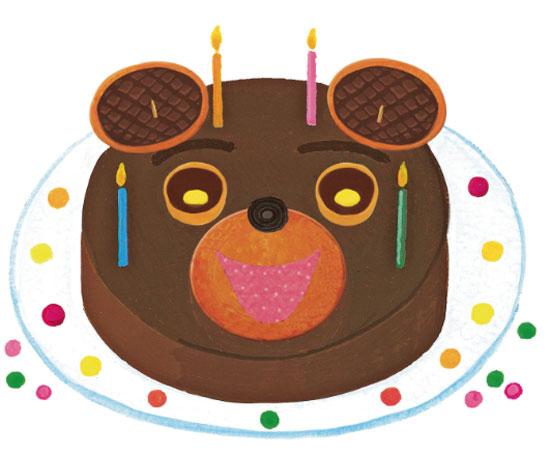 modèle de gâteau Petit Ours Brun