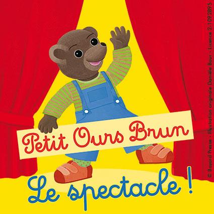 L'affiche du Spectacle de Petit Ours Brun