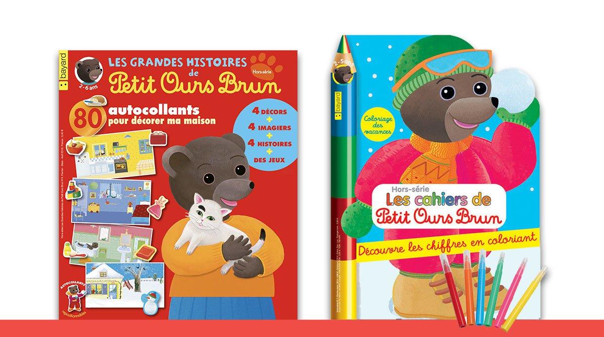 Hors série Les grandes histoires de Petit Ours Brun n°4 - Hors-série Les cahiers de Petit Ours Brun n°16