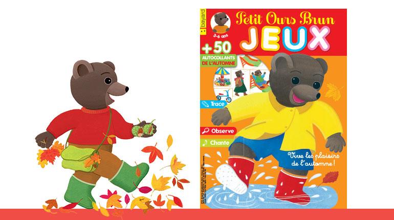 Petit Ours Brun Jeux n°35 « Vive les plaisirs de l'automne »
