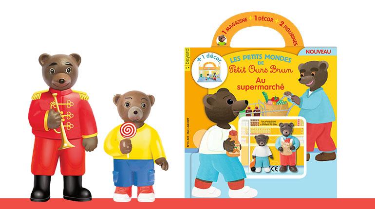 Les Petits mondes de Petit Ours Brun au cirque