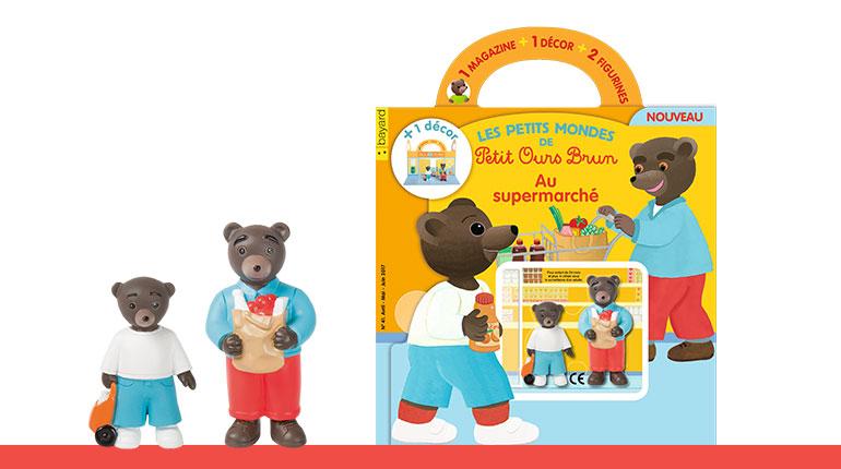 Découvrez le dernier numéro des Petits Mondes de Petit Ours Brun