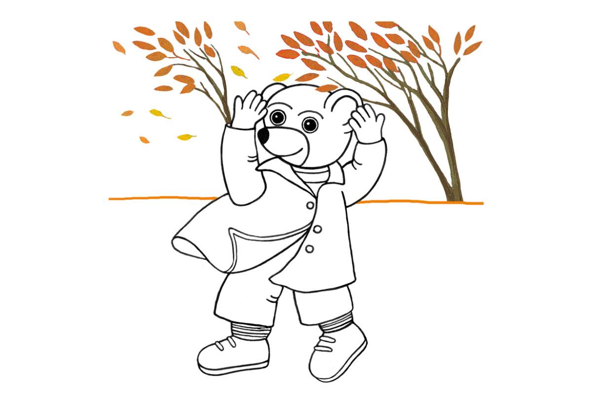 Livret d'activités automne Petit Ours Brun à imprimer, coloriages automne Petit Ours Brun à imprimer