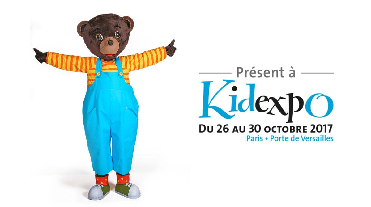 Petit Ours Brun au salon Kidexpo