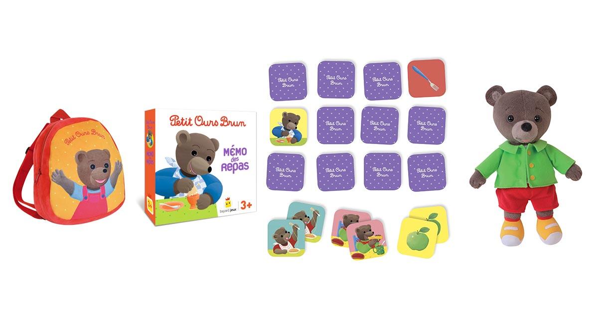 Les jeux et jouets Petit Ours Brun