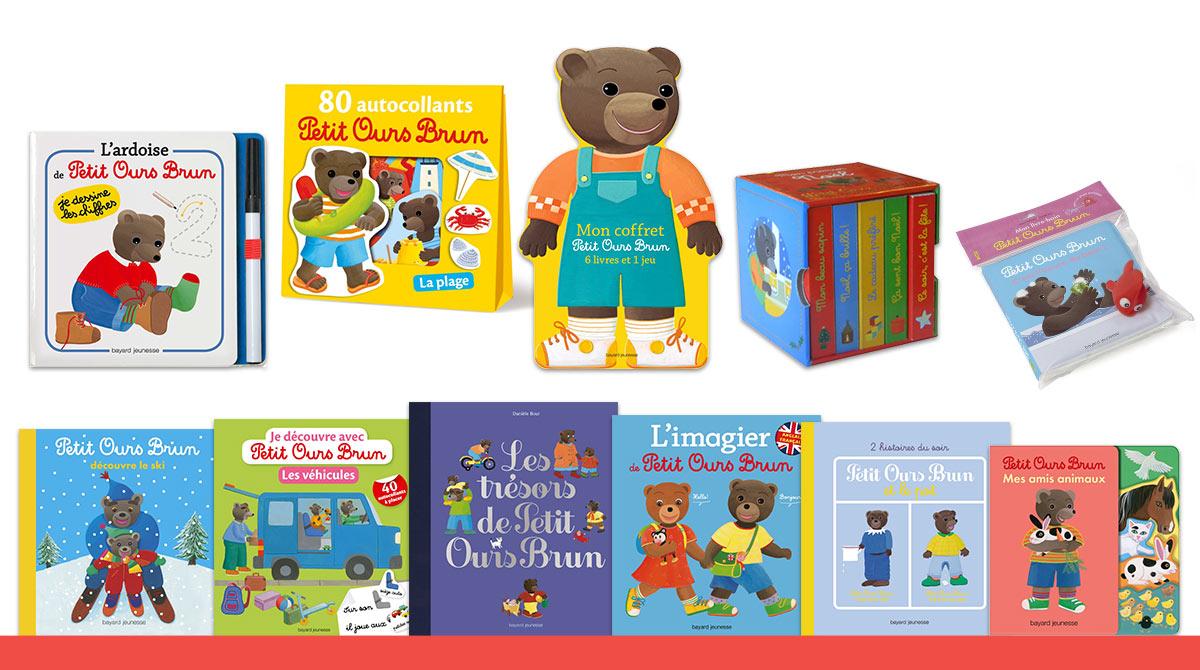 Les livres de Petit Ours Brun