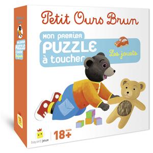 Le jeu de Petit Ours Brun : mon premier puzzle à toucher, les jouets