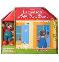 Du 16ème au 25ème : La maison à déplier + une petite peluche Petit Ours Brun