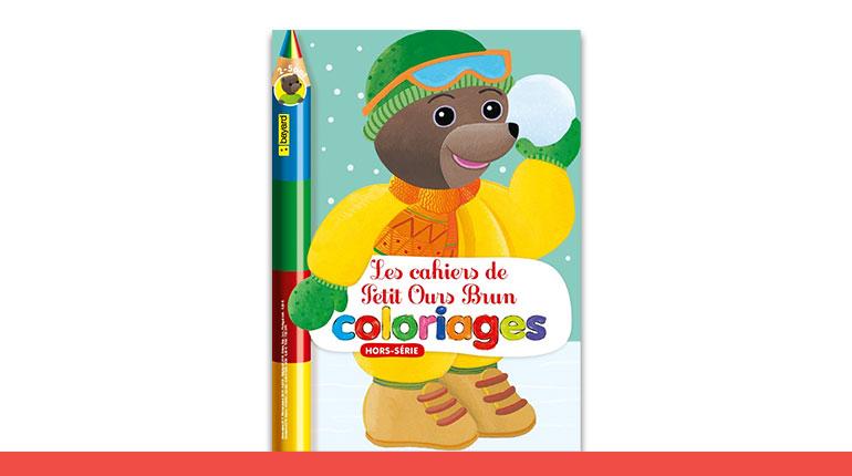 Magazine hors-série « Les cahiers de coloriages Petit Ours Brun » n°7