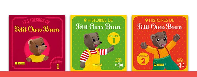 Les livres de Petit Ours Brun du J'aime Lire Store sont désormais accessibles depuis votre ordinateur