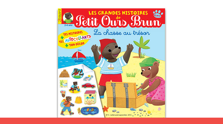 """Petit Ours Brun est de retour dans ses Grandes Histoires """"La chasse au trésor"""""""