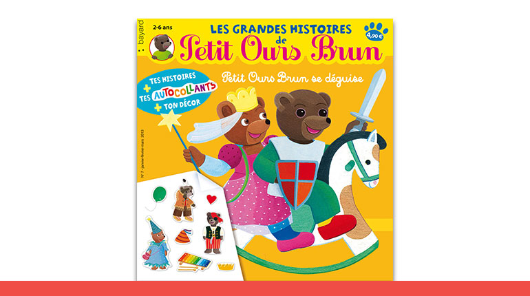 Les Grandes Histoires de Petit Ours Brun sur les déguisements