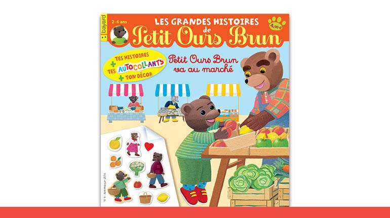 Les Grandes Histoires de Petit Ours Brun avec autocollants