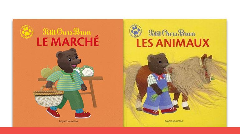 Une nouvelle collection de livres à toucher pour Petit Ours Brun !