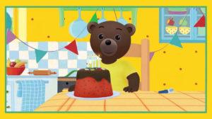 Une Video D Anniversaire Petit Ours Brun Personnalisee Pour Votre Enfant Les Actualites Nouveautes Petit Ours Brun