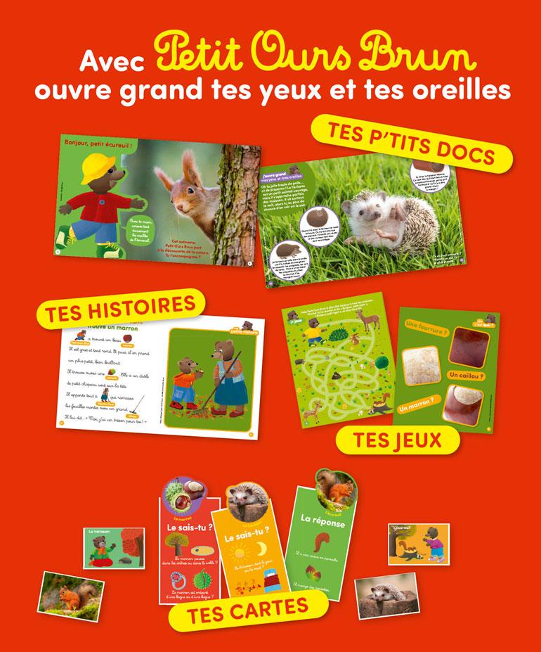 Découvre avec Petit Ours Brun - C'est beau l'automne ! - N°3